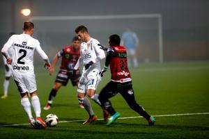 Mattias Liljestrands Syrianska spelade 1-1 mot SFK.