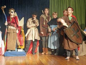 Teater är ett stående inslag i skolarbetet vid Annaskolan.