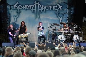 Sonata Arctica är ett band som efterfrågats länge, i helgen gjorde de en uppskattad spelning på Lugnet.