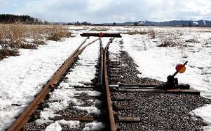 Stickspår till två tågdepåer. Jernhusen planerar till vänster och Train Alliance till höger.Foto: Johnny Fredborg