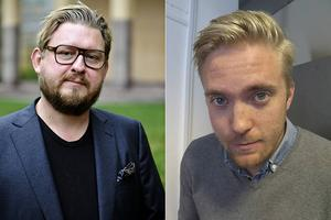 Östersundspostens politiske redaktör Marcus Persson (till höger) ska debattera mot Aftonbladets Fredrik Virtanen i Sveriges Televisions valsatsning med Janne Josefsson och Belinda Olsson i nästa vecka.