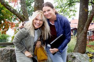 Systrarna Malin Davidson och Lotta Hultgren, Malin & Lotta, som släpper låten