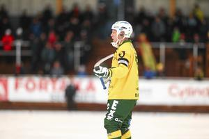 Johan Berglund är tillbaka i Bollnäs.