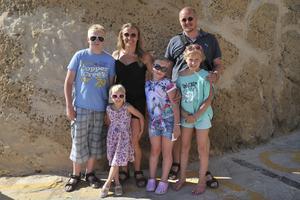 Familjen Johansson från Åland har bott på Gozo de senaste sju åren där de har hittat sitt paradis.