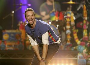 Chris Martin i Coldplay.