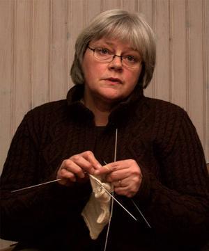 Annbritt Skytt arrangerar ullmarknad för andra året i rad.