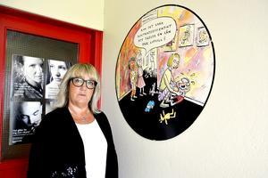 Anette Berglund, ordförande för Kommunal, sektion Sundsvall vård och omsorg, är inte förvånad över att Sundsvalls kommun  framställs som tvåa i låglöneligan i Kommunalarbetarens undrsökning.
