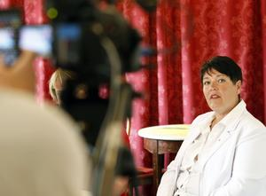 Carina Blank (S), tidigare kommunalråd samt ordförande i Svenska kommun försäkrings AB från maj 2014 till maj 2015.