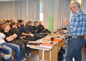 Stig Lundh talade om verktyg för eleverna.