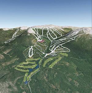 Det är inte bara fantastisk utförsåkning man kommer att bjuda på i Örndalen. Även förutsättningarna för turåkning blir jättefina.