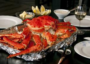 Kungskrabborna från Norge är de godaste skaldjur man någonsin kan tänka sig.