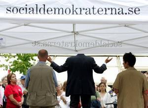 Socialdemokraterna ses inte längre som det statsbärande partiet...