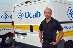 Torbjörn Lundström är vd för Ocab i Örnsköldsvik, som bland annat jobbar med sanering och fukt.