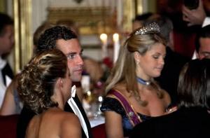 Ordensgill på Grand Hotel, Stockholm. Hedersgäst var prinsessan Madeleine, till bordet har hon sin Jonas.