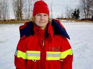 Maria Häggblom kastades in i hetluften direkt på sitt första uppdrag.