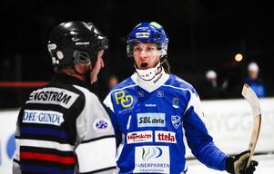 Petter Andersson spelade fem matcher förra säsongen. När Vänersborg gästade Idrottsparken i Ljusdal stod han för ett mål och två assists i 4–3-segern mot LBK.