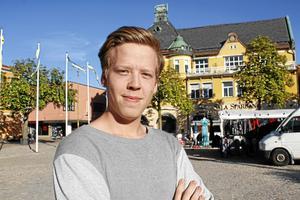 Nu har Elias Lundberg fått känna på hur det är att köra på den internationella scenen.