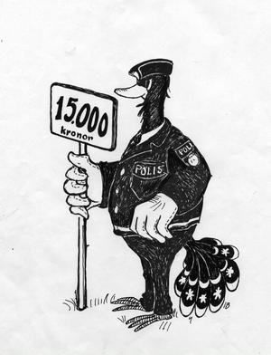 Polisen ville ha en rejäl löneförhöjning.