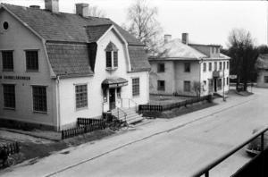 FOTO: ERIK JOHANSSON. Denna bild på Svenska handelsbanken och Källers är tagen 1962.