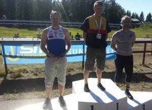 Andreas Davidsson, Forsa, tog ett starkt SM-silver efter att ha avgjort kampen i det avslutande stående skyttet.