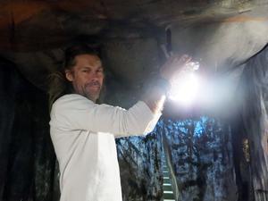 Gävlekonstnären Peter Endahl.