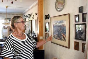 Ingrid Johansson är tredje generationen i sin släkt som bor på Trysunda. Pappa Hugo Lundgren var fiskare på ön.