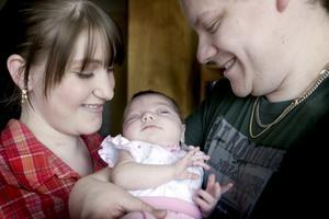 DRÖMMER OM MÅNGA BARN. Även om Therese Janssons dröm om ett eget barn infriats har hon inte slutat drömma.