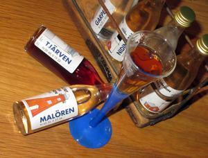 Alkoholfria nubbar.