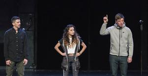 Yassin (Karim Carlsson), (Dana) Shada-Helin Sulhav) och Robin (David Book) är alla framskrivna ur verkliga ungdomars berättelser.