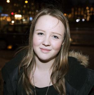 Amanda Åström, 13 år,student, Gävle:– Sluta småäta.