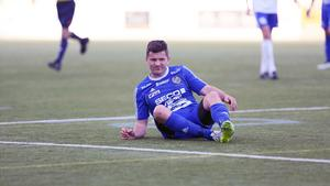 Södra och Johan Adamsson hade det tungt mot Bosnisk SK.