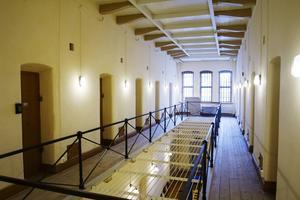 De gamla fängelsecellerna kan användas som kontor för kulturföreningar.