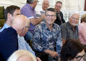 Pontus Lindström, en av kammarkörens sångare, stod också värd för några av de amerikanska gästerna under besöket i Sundsvall.