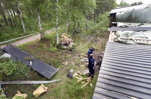 Mannen dömdes 2012, bland annat för att ha satt eld på XL-Bygg i Sandviken