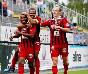 Östersunds FK ligger tvåa i superettan. På onsdag möter laget SFF på Hällåsen.