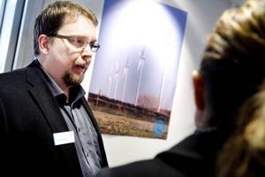 Generellt för branschen är behovet av mer servicetekniker framöver, konstaterar David Danielsson på Triventus som jobbar med vindkraftsprojekt.