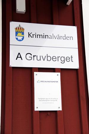 Sveriges mest öppna anstalt ligger ett par mil utanför Ockelbo.