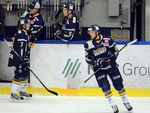 Marcus Andersson var besviken efter VIK-förlusten. Men är ändå ganska nöjd med att han börjar komma tillbaka i gammalt gott slag efter höftoperationen.