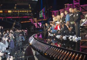 Tolv bidrag gör upp om att få representera Sverige i Eurovision Song Contest. Fler av artisterna tror att den internationella juryn kan komma att bli avgörande på lördag.