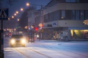 Los låg som nummer två på SMHIS:s lista över den högsta noterade nederbördsmängden i landet under Egons framfart. Resterande av kommunen fick sin beskärda del av snö de med och snöröjarna hade fullt upp att få bort den kompakta snön som kommit.