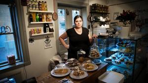 Har slagit igen. Helen Ringbo Widoff valde att stänga Solbackens café.