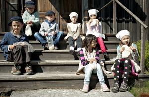 Hembakt är godast, tycker Oliver, Oskar, Dag, Robyn, Viktoria, Vinda och Hannah.