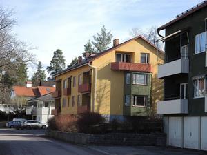 Flerbostadshus på Jesper Svedbergs väg i Falun.