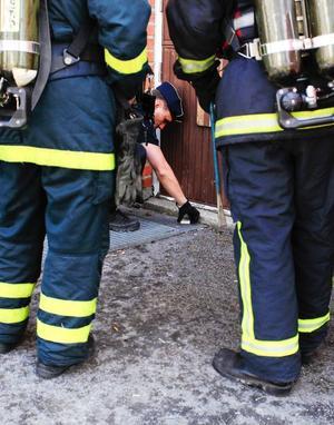 Branden var troligen anlagd. Det kan även ha varit en kvarglömd fimp som orsakat branden. Polisen undersöker nu brandorsaken.