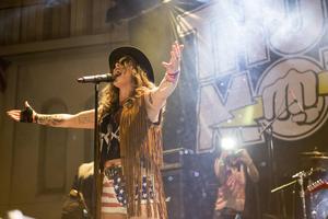 Thundermother spelade på både Getaway Rock Festival och Hoforsrocken i år.