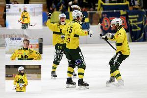 Ljusdals juniorspelare Marcus Öhman, Isak Flodberg, Elias Swartswe och även  Elias Schröder fanns med på planen när Ljusdal fortsätter att vinna i supercupen.