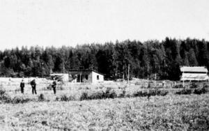 Den nya elektrotekniska fabriken i Ludvika stakas ut år 1900