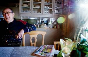 Staffan Husberg har råkat ut för falska fakturor förut och upptäckte den här gången bedrägeriet. Han varnar nu andra för fuskföretaget Emphas ekonomi AB.Foto: Lars-Eje Lyrefelt