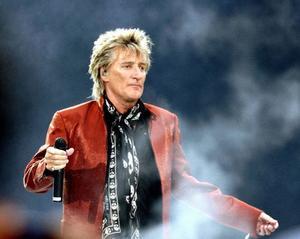 """I morgon kommer Rod Stewart till Stockholm. """"Det blir gammalmodig rock'n'roll, mycket nostalgi och låtarna som vi alla växte upp med"""", säger han.Fto: Scott Heppell/AP/Scanpix"""