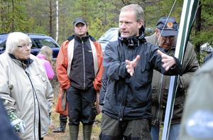 Fördel bioenergi. Hans Lindberg från Stora Enso Skog berättar om olika gallringsmetoder.